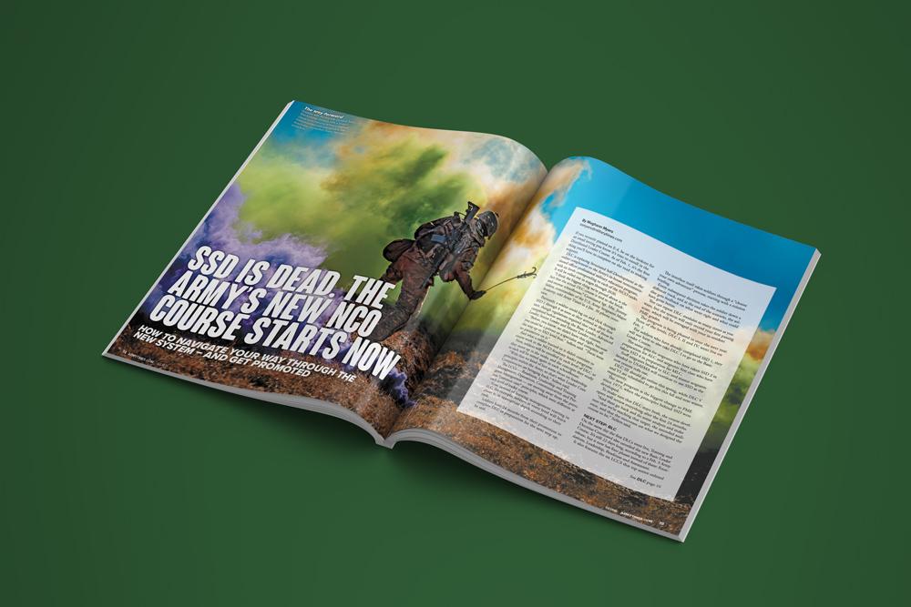 Magazine, Army, magazine Layout,