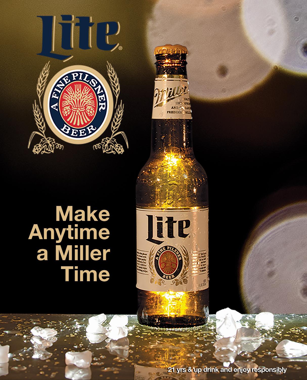 Miller Lite Campaign Ad