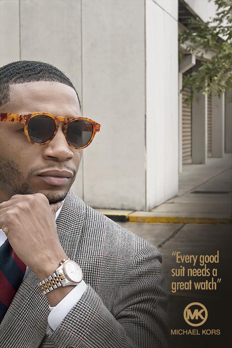 Black Man in High Fashion